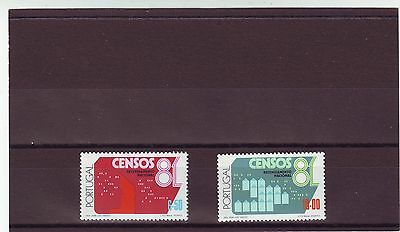 Portugal - Sg1822-1823 Mnh 1981 National Census