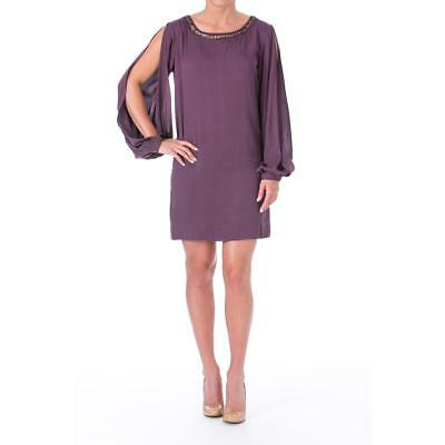 Elizabeth and James 7481 Womens Lindvall Embellished Tunic Cocktail Dress BHFO