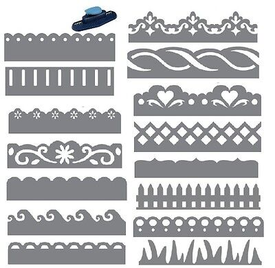 Fiskars Border Punch Paper Edger Scrapbook Craft Card Making SELECT YOUR DESIGN!