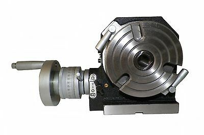"""4"""" Horizontal & Vertical Rotary Table Prime Quality 4 Inch Hv Rotary Table"""