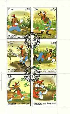 Timbres Disney Sharjah o lot 7069