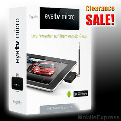 Elgato eyeTV Micro DVB-T Digital TV Tuner MAC Galaxy S5 S4 S3 Note 3 & 2 Tab 8.0