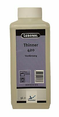 LESONAL Verdünnung 420, Thinner 420, 5 Liter