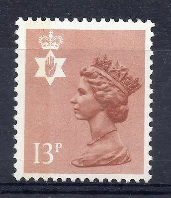 GB = NORTHERN IRELAND 13p Regional. (Litho by Questa). MNH. SG NI37. Pale colour