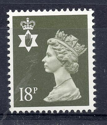 GB = NORTHERN IRELAND 18p Regional. (Litho by Questa). MNH. SG NI46.