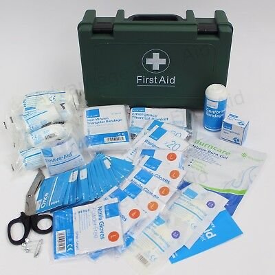 BS Compliant Workplace First Aid Kit - SMALL. BS8599 1 Sturdy First Aid Box