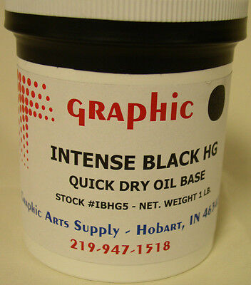 Intense Black Hg Quick Dry Oil Base 1 Lb