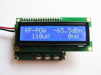 0.1 ~ 2.4GHz RF power meter frequency range 100 ~ 2400 MHz -65 ~ +0 dBm 1nW-1W