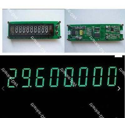 0.1MHz ~60 MHz 20 MHz~2.4 GHz VFD Frequency Counter Cymometer Tester METER 9 LED