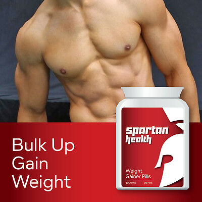 Spartan Health Weight Gainer Pills – Put On Size Bulking Pill Gain Size
