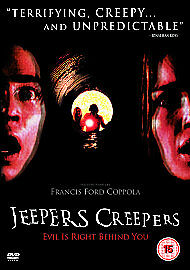 Jeepers Creepers New Region 2 Dvd