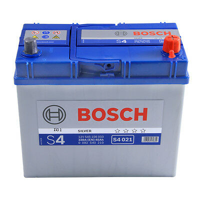 Bosch Car Battery 12V 45Ah Type 158 300CCA 4 Years Wty Sealed OEM Replacement
