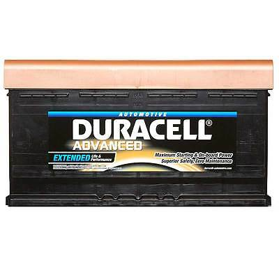 Duracell Advanced Car Battery 12V 95Ah Type 019 800CCA Sealed OEM Replacement