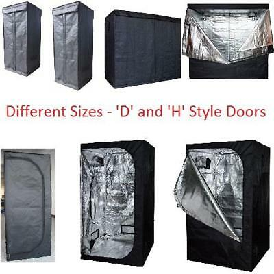 Mylar Grow Tent Aluminium Bud Room Hydrophonics Hydrophonic Light Box Dark New