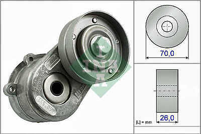 CHRYSLER VOYAGER Auxilliary Belt Tensioner 2.5,2.8D 2000 on 534044810 Drive INA