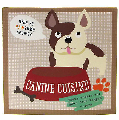 Canine Cuisine Dog Cook Book by Shawn Sherry Hardcover Christmas Gift 2305