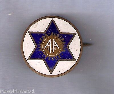 #d205. All For Australia League  Lapel Badge, 1931 Political Party