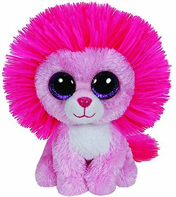 NEW TY Beanie Boo Plush - Fluffy the Valentines Lion