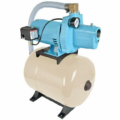 Little Giant JP-050-C/T9H - 12 GPM 1/2 HP Cast Iron Shallow Well Jet Pump Sys...