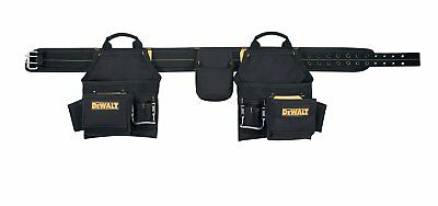 DEWALT Work Gear 16 Pocket Deluxe Carpenter's Combo Apron Tool Belt NEW