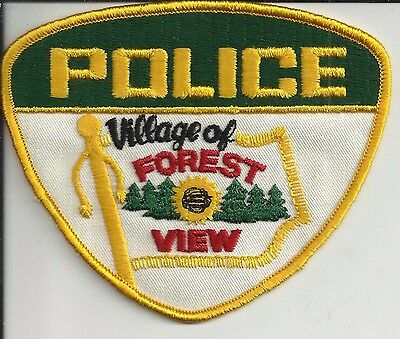 Village of Forest View (Illinois)  Police uniform patch (12)