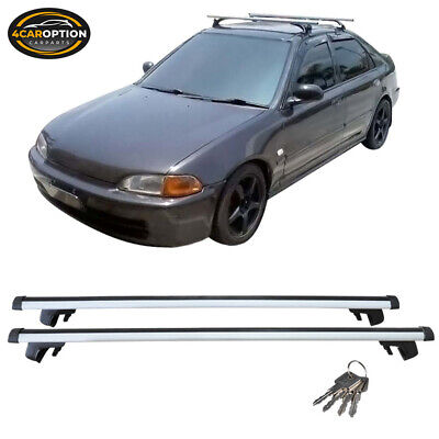 Aluminum 48 Inch 120CM Universal Roof Rack Cross Bar Luggage Carrier With Lock