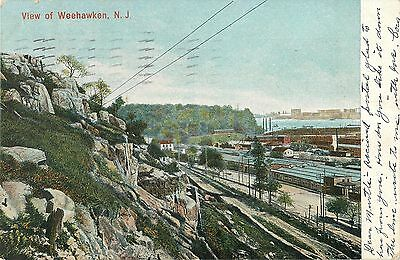 Moxie Billboard, Warehouses, Weehawken NJ 1906