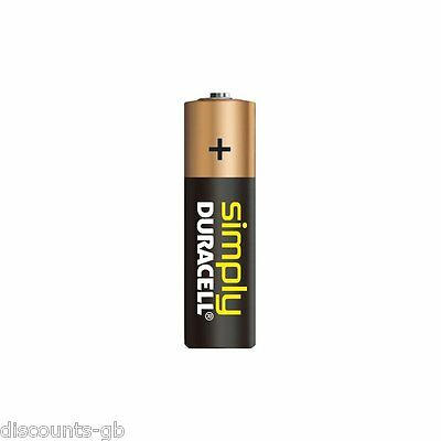 8 x Duracell AAA Simply Alkaline Batteries - LR03, MN2400, MICRO.