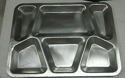 Vintage 1943 Military Mess Hall Tray