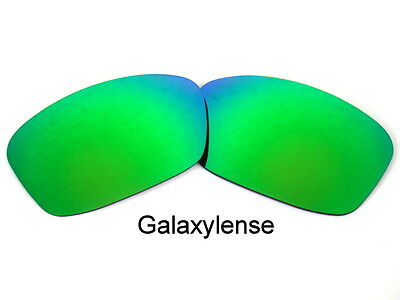 Galaxy Replacement Lenses For Oakley Hijinx Green Polarized 100% UVAB