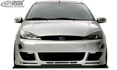 Headlight Brows Eyelids Eyebrows For The Ford Focus Mk1 10/98 - 9/04 Nice Gift 3