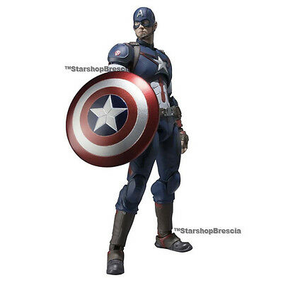 MARVEL Avengers Age of Ultron Captain America S.H. Figuarts Action Figure Bandai