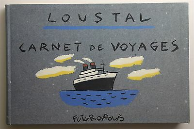 Carnet De Voyages Jacques De Loustal 1990 French Futuropolis Graphic Novel Book