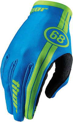 Thor S6 Youth Void Course Gloves # Blue Small 3332-1004