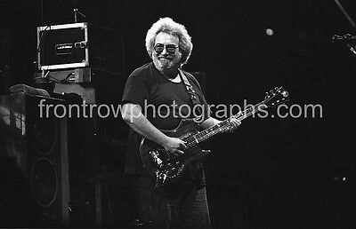 "Grateful Dead JERRY GARCIA 8""x10"" BW Photo"