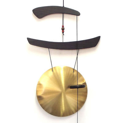 Wind Chime Metal Brass Gong Ornament Feng Shui *121cm Drop* 2402
