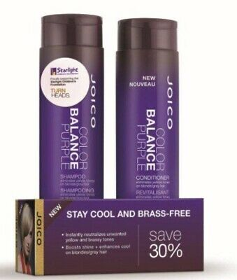 Joico Color Balance Purple  Shampoo and Conditioner 300ml Duo Pack Colour