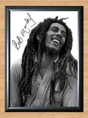 Bob Marley Legend Signed Autographed A4 Print Poster Photo cd dvd ticket shirt
