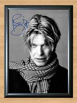 DAVID BOWIE Hunky Dory Low Signed Autographed A4 Print Poster Photo ticket cd