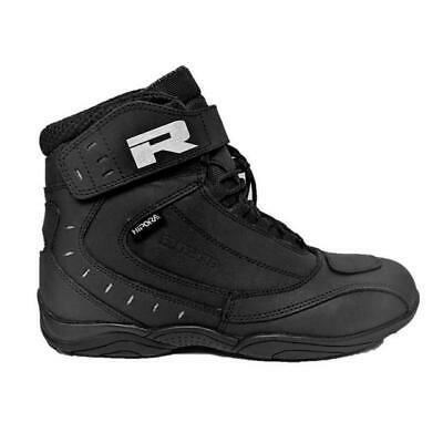Richa Slick Waterproof Short Paddock Stunt Motorcycle Sport Boots Black Or White