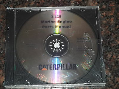 caterpillar b e engine workshop repair service cat caterpillar 3126 marine engine parts cd book manual s n 1zj1 up