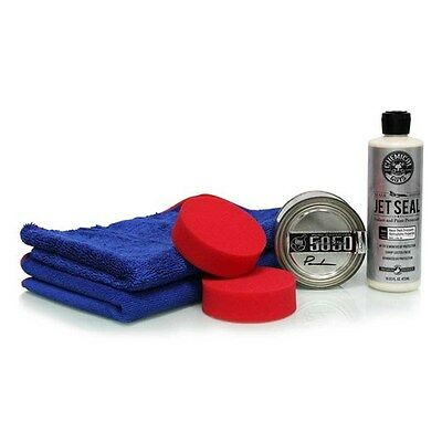 Chemical Guys JetSeal 109 & 5050 Paste Wax Ultimate Shine & Protection Kit, New