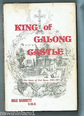 #Rr. Australian History Book - King Of Galong Castle, Ned Ryan