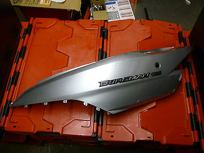 Suzuki Burgman 125 Left Seat Fairing Panel Plastic *free Uk Post*