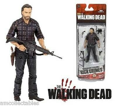 McFARLANE WALKING DEAD TV 7.5 - RICK GRIMES - WOODBURRY ASSAULT FIGUR - NEU/OVP