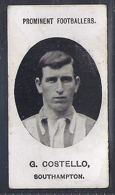 Taddy-Prominent Football Ers (No Footnote)- Southampton - Costello