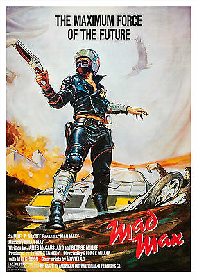 Mad Max (1979) - A1/A2 Poster **BUY ANY 2 AND GET 1 FREE OFFER**
