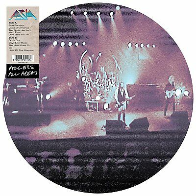 Asia - Access All Areas (2015)  Limited Vinyl Picture Disc  NEW  SPEEDYPOST