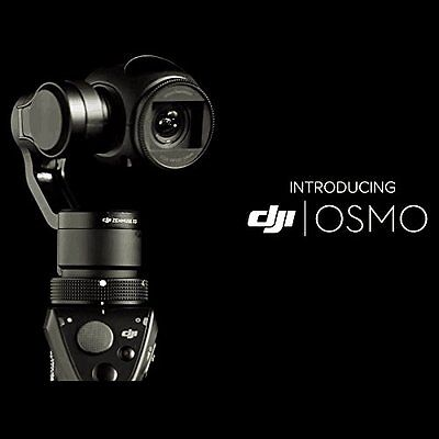 DJI OSMO Advanced 12MP Handheld 4K Camera & 3X Gimbal System +2 FREE BATTERIES