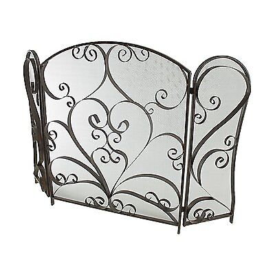 Aspire Home Accents 6916 Maxwell Metal Fire Screen